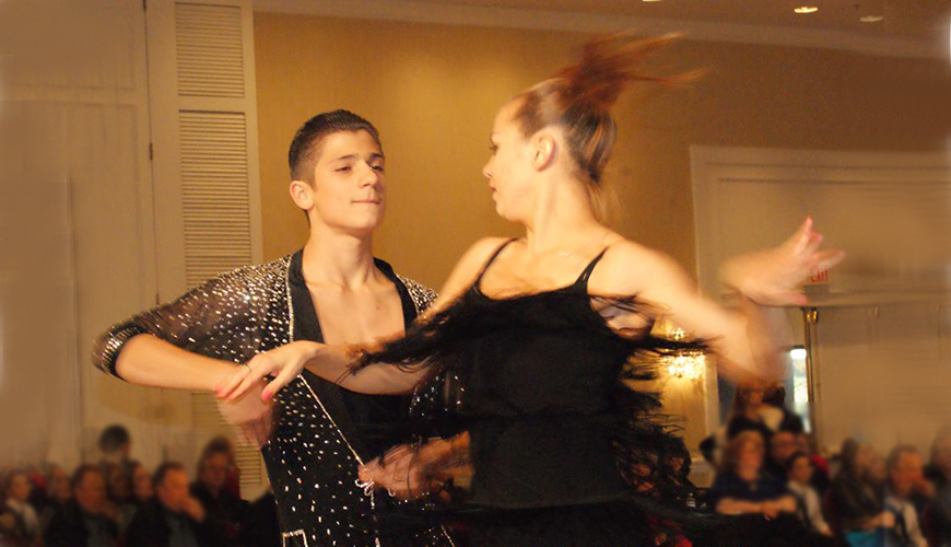 Competitive Ballroom and Latin - Dance Classes for Kids and Teens at Star Dance School Newton, Boston MA