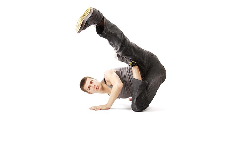 Teen hip hop dancing